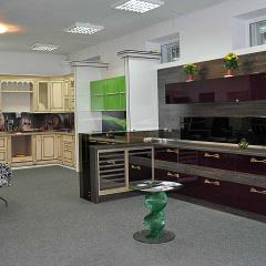 Кухня акриловая